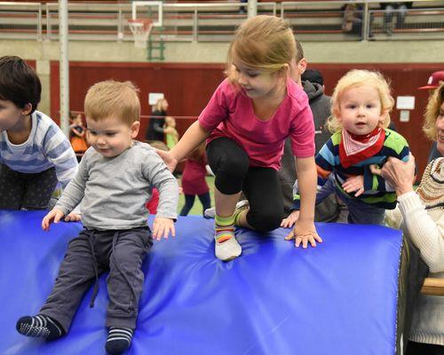 Die Kindersportschule des VfL Herrenberg feiert ihr 20-jähriges Bestehen in der Längenholzhalle