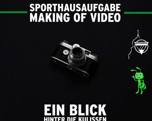 Making Of zu unseren Kindersportvideos