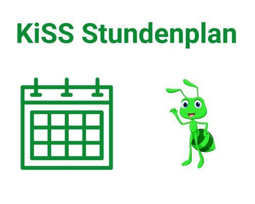 KiSS - Stundenplan 2021/2022